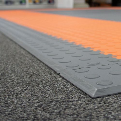 MotoLock Ramps And Edging Tiles